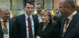 Më 26 Prill në Tiranë delegacioni i CDU-së së Merkel takon Bashën