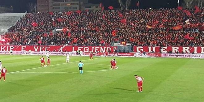 Skënderbeu-Partizani Beogradit/ 100 mijë euro për fitoren dhe 50 mijë për barazimin.