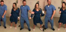 Njihuni me doktorin që vallëzon së bashku me gratë, për t'i ndihmuar para lindjes. Video