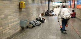 San Françisko/ Metrotë të mbushur me drogmenë. VIDEO