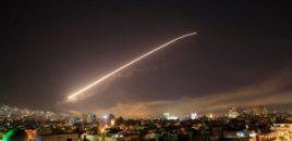 Publikohen video të një rakete të lëshuar nga luftanija franceze kundër Sirisë.