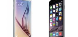 Iphone fiton luftën me Samsung