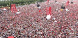 6.7 milion veta në mitingun përmbyllës të kundërshtarit të Erdogan