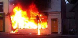 Zjarri përfshin arkivën e Gjykatës së Lartë në Tiranë. VIDEO