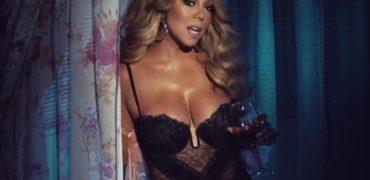 Mariah Carey shfaqet me një veshje shumë sensuale. Video