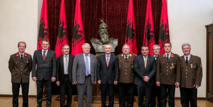 Presidenti Meta priti Presidentin e Shoqatës Austri-Shqipëri, z. Wolfgang Grossruck