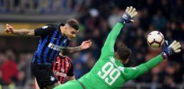 Interi mposht Milanin me golin e Icardit në minutat e fundit. VIDEO
