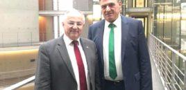 Agron Duka takohet me Z. Josip Juratovic, deputeti i Partisë Socialdemokrate Gjermane.