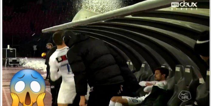 Lojtari shqiptar thyen pankinën me grushta. Ja çfarë thotë Presidenti i tij. VIDEO