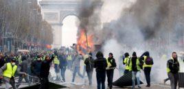 Tym e flakë Parisi/ Macron tërhiqet nga rritja e taksës 6 cent për karburantet