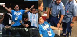 Maradona shtrohet me urgjencë në spital