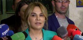 Monika Kryemadhi ka firmosur marrëveshjen me Partinë Demokratike.