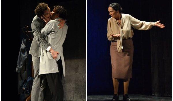 Puthje, përqafime, prekje homoseksuale në skenën e Teatrit. VIDEO