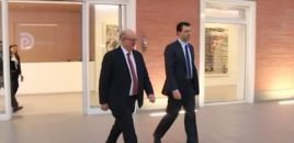 Basha takon Ambasadorin e Britanisë së Madhe në Tiranë, Duncan Norman