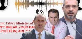 Përgjimet/ Ish-ministri i Brendshëm, Saimir Tahiri: Ndjesë për fjalorin!