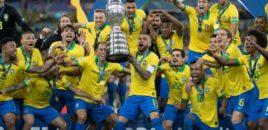 Brazili fiton për herë të 9-të në histori Kupën e Amerikës
