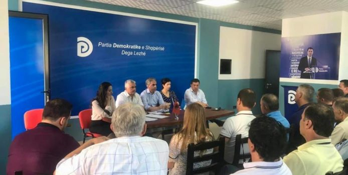 Partia Demokratike Dega Lezhë padit në Prokurori anëtarët e Komisionit Qëndror të Zgjedhjeve dhe atë zonal.