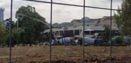 Video/ Shkatërrohet Parku Rinia në mes të Tiranë