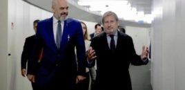 Në pritje të vendimit të Këshillit Europian për negociatat, Rama takon Hahn
