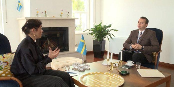 Ambasadorja e Suedisë: Krimi organizuar shqiptar dhimbje koke për Europën