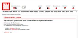 Gazeta BILD fshin artikullin me akuza për PD-në