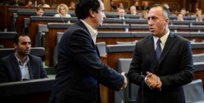 Haradinaj i shkruan letër Kurtit: Mos e hjek taksën Albin.